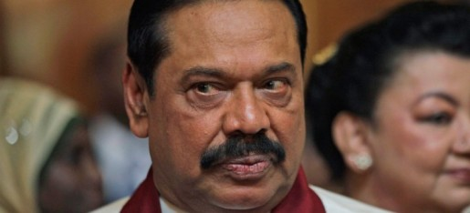 Mahinda Rajapakse; via Groundviews, via The Daily Beast.